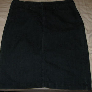 NEW NMDJ DARK BLUE DENIM SKIRT SZ 14FREESHIP